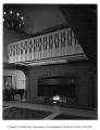 University of Washington Faculty Club interior showing fireplace, Seattle, n.d.