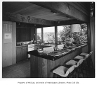 MacLane residence interior showing kitchen, Seattle, 1953