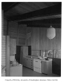 Koppel residence interior showing kitchen, n.d.