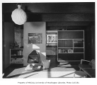 Mason residence interior showing living room, Richmond Beach, n.d.