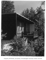 Mason residence exterior showing deck, Richmond Beach, n.d.