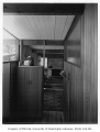 Dodds residence interior showing hallway, Seattle, 1951