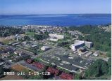 Aerial View of Wesley Homes and Puget Sound