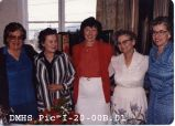 Des Moines Historical Society Tea, 1981