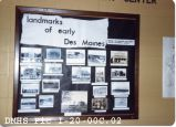 Des Moines Historical Society Display at Seatoma Convalescent Center
