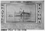 Steamer Daring, Seattle Tacoma