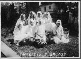 First Campfire Group in Des Moines. Early 1920s