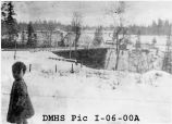 Bridge over Des Moines Creek, built in 1915-1916