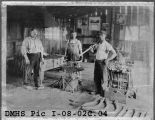 Blacksmith Shop (three men)