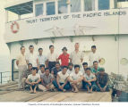 Crew of the ship RAN-ANNIM, summer 1964