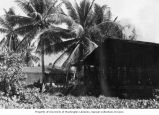 Old Officer's Club on Bikini Atoll, summer 1949