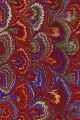 Vintage 19th c. marbled paper, Bouquet pattern