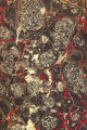 Vintage 19th c. marbled paper, Stormont on Turkish pattern