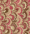 Modern 20th c. marbled paper, Peacock pattern