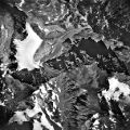 Beartooth Plateau, Cirque Glacier and Rock Glacier, 08/19/1963