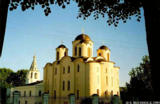 St.Nicholas Cathedral with its bell tower in Novgorod the Great