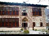 Museum in Sheki situated in the restored building of Khan's Palace