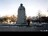 Monument to Karl Marx in Moscow