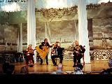 Folk art performance in Saint Petersburg