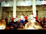 Folk music and dance performance in Saint Petersburg
