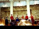 Folk music performance in Saint Petersburg