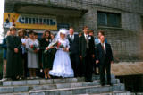 After the wedding ceremony in Biysk