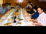 Dinner hosted by the director of technology for Sukhoy airplanes, an aircraft model produced by...