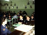 Fifth grade class in Novosibirsk