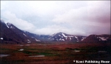 The Polar Ural Mountains during the last hours of summer