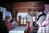 """Buying the Bride,"" a display in the Leningrad ethnographic museum portraying the..."