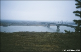 Bridge over the Don River, south of Rostov-na-Donu