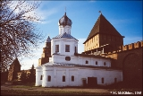 Church of the Protective Veil inside the Kremlin in Novgorod