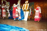 The Snopot village folklore ensemble presents a stage version of the ceremonies attending Snopot's...