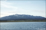 Cape Kamchatsky Range viewed from a small boat in Nerpichye Bay