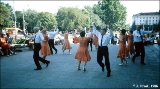 """Square dance"" on a street in Krasnodar"
