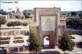 Entrance gate to the Gur-Emir Mausoleum in Samarkand