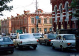 Downtown street in Saratov