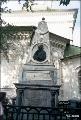 Eighteenth century tombstone on the grave of Shelokhov, an Irkutsk nobleman who lived during the...