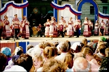 Pyatnitsky Ensemble performing Russian folk dances during the celebration of Novgorod's 1140th...