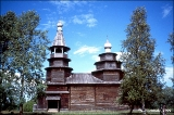 Church of St. Nicholas in the open-air museum Vitoslavlitsy