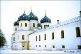 Cathedral of the Resurrection of the Cross in the Yurev Monastery, in Novgorod