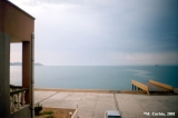 View of the Caspian Sea from the Hotel Florida in Turkmenbashy