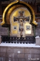Shrine on one side of the Cathedral of Christ the Savior on the Blood in Saint Petersburg