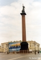 Alexander's Pillar on Palace Square in Saint Petersburg