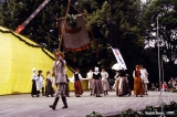 """Dandari,"" a folk dance group of the University of Latvia performing at the Baltica Folk..."