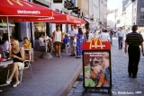 McDonald's restaurant in the old town of Tallinn