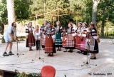 """Seto,"" a folk group from southeastern Estonia, at the Viru Saru International Folk..."