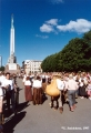 Baltica Folk Festival in Riga near the Freedom  Monument in Riga