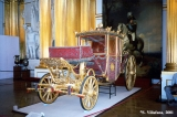 Carriage displayed in the Armorial Hall of the Winter palace in Saint Petersburg