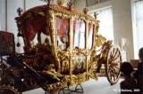 """Big"" French carriage in the Field Marshall's Hall in the Winter Palace, Saint Petersburg"
